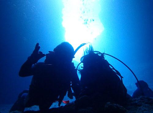 青の洞窟感動体験ダイビング